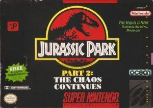 Jurassic Park Part 2 - The Chaos Continues ROM