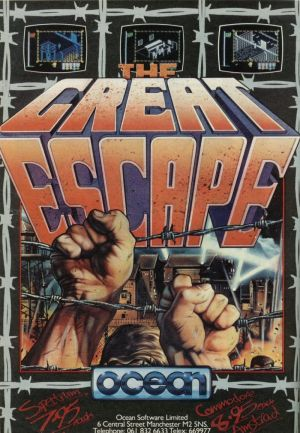 Great Escape, The (1986)(The Hit Squad)[re-release] ROM