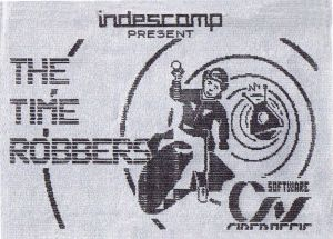 Time Robbers, The (1985)(Side A)(ES)(en)[Short Version] ROM